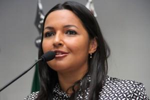 Joice Silva é a presidente da Câmara Municipal de Taboão da Serra. (Foto: Cynthia Gonçalves / CMTS)