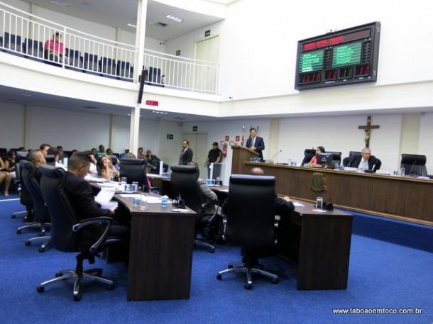 Na primeira sessão da nova legislatura, vereadores de Taboão definem comissões e escolhem os homenageados com a medalha 19 de fevereiro.