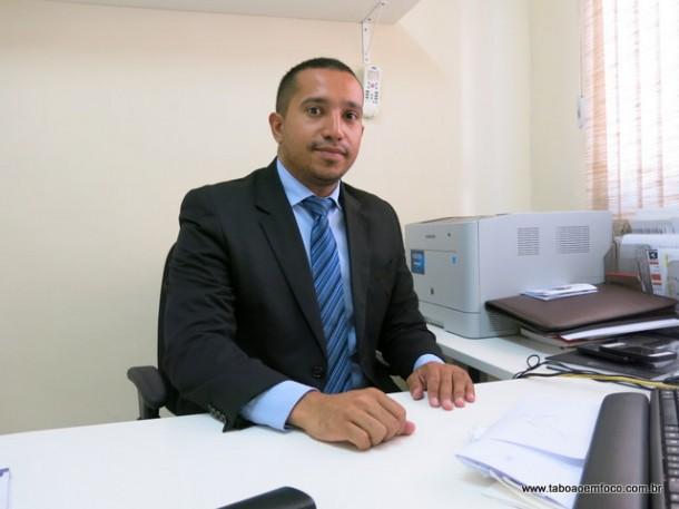 Supervisor do CIEE Taboão da Serra, Luciano Palancio.
