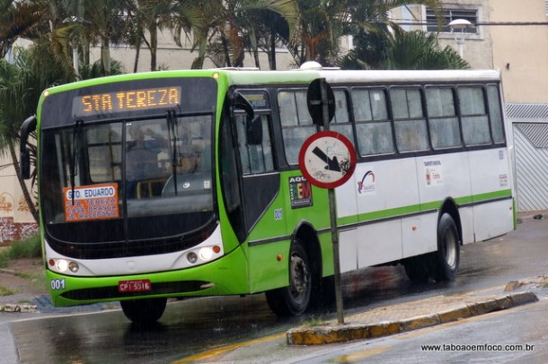 Tarifa de ônibus está programada para ser reajustada na próxima segunda (6) de R$ 3,20 para R$ 3,80.