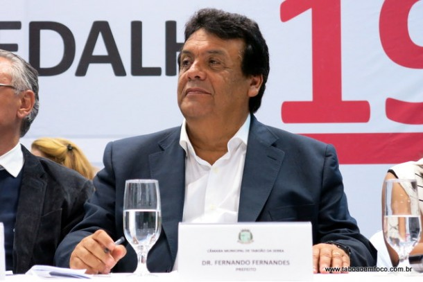 Prefeito Fernando Fernandes destaca está em seu quarto mandato a frente da Prefeitura de Taboão da Serra.