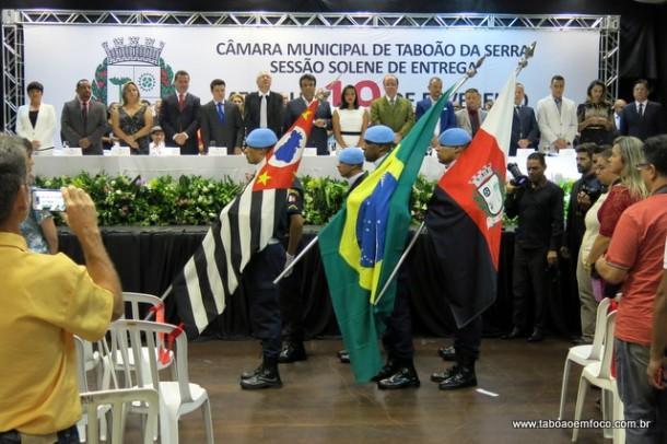 Sessão Solene celebra 58 anos de Taboão da Serra.