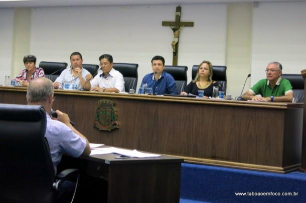 Vereadores participam de audiência para prestação de contas da Prefeitura de Taboão da Serra referente a 2016.