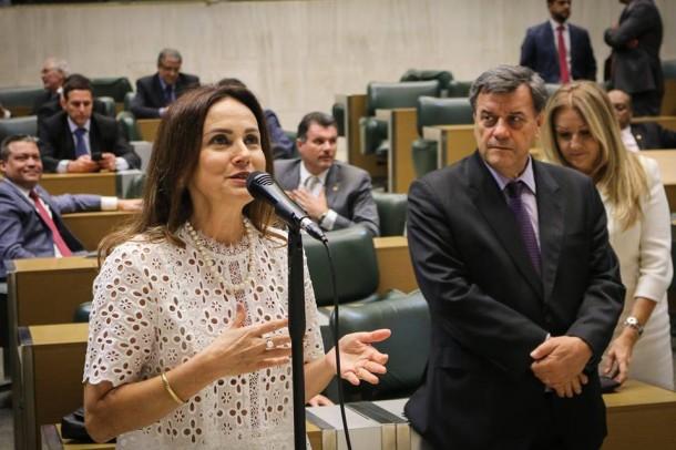 Deputada Analice Fernandes é a nova vice-presidente da Assembleia Legislativa. (Foto: Divulgação)
