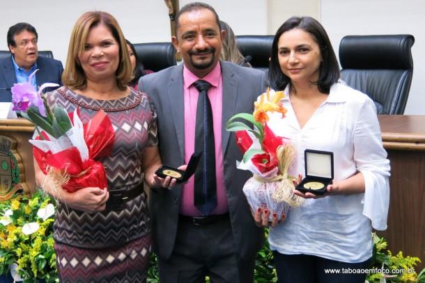 Cido entrega Medalha Laurita Ortega Mari de 2017