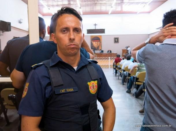 O GCM Viana foi eleito comandante da Guarda a menos de uma semana.