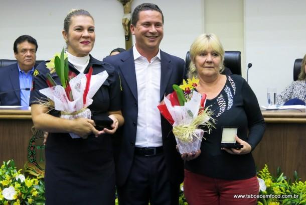 Eduardo Nobrega entrega Medalha Laurita Ortega Mari de 2017