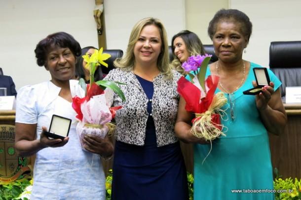 Érica organizou a entrega das medalhas durante quatro anos.