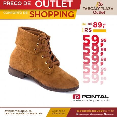 Se você deseja compor um look versátil com um calçado confortável, o coturno à venda na Pontal é a escolha certeira!