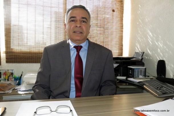 Presidente da OAB de Taboão da Serra, Dr. Moacir Tertulino da Silva.