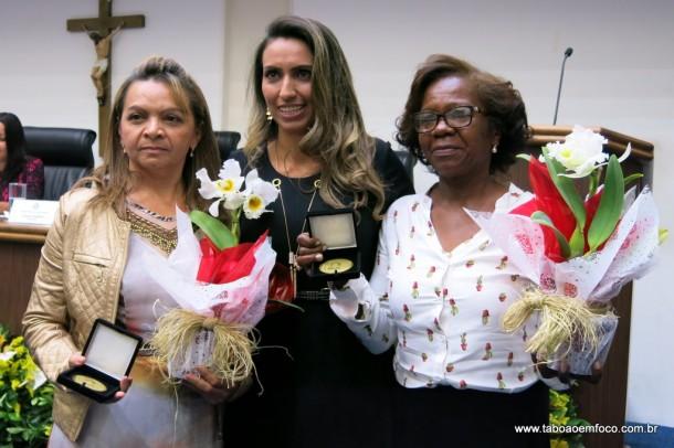 Priscila Sampaio entrega Medalha Laurita Ortega Mari de 2017