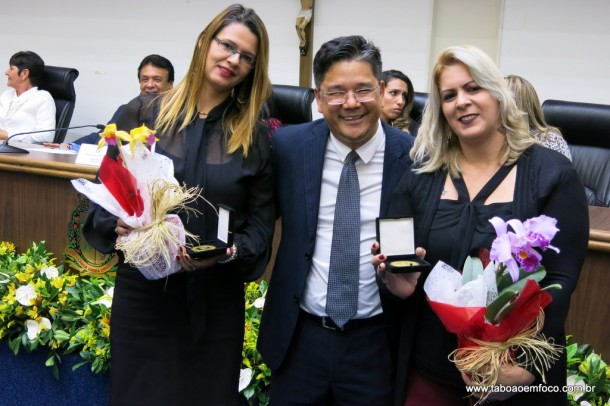 Ronaldo Onishi entrega Medalha Laurita Ortega Mari de 2017