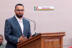 Presidente da Câmara Hugo Prado defende sessões no horário da manhã.
