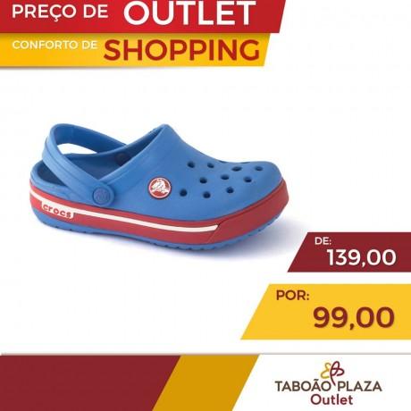 O crocs infantil, à venda na #Brazolim, é confortável e os pequenos adoram pela facilidade de calçar além de serem coloridos e estilosos. Venha para o #TaboãoPlazaOutlet e confira este e outros modelos!