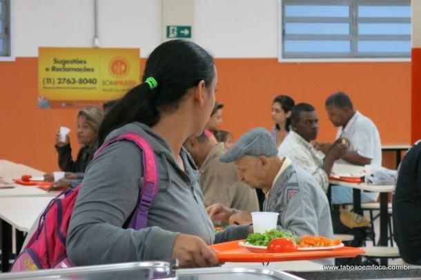 Bom Prato de Taboão da Serra vai oferecer mais 200 refeições a partir de segunda (dia 7).