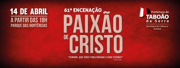 Cartaz Paixao de Cristo 2017