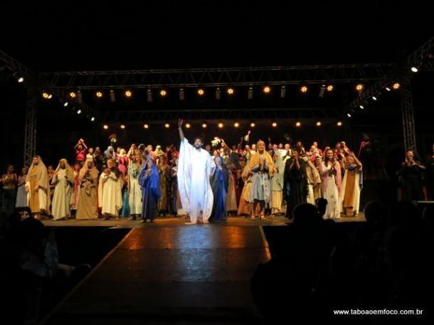 Paixão de Cristo de 2017 chega a sua 61ª edição em Taboão da Serra.