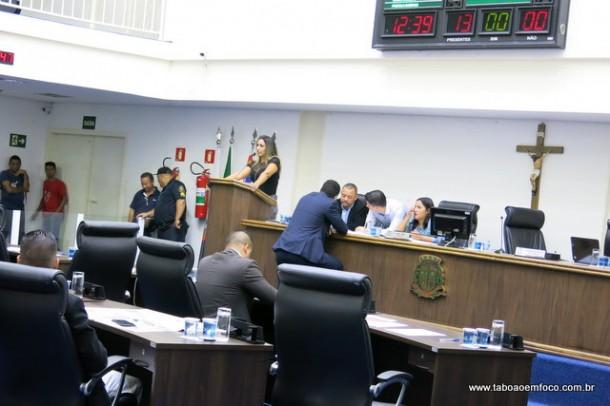 Sessão legislativas não teve projetos em pauta para votação.