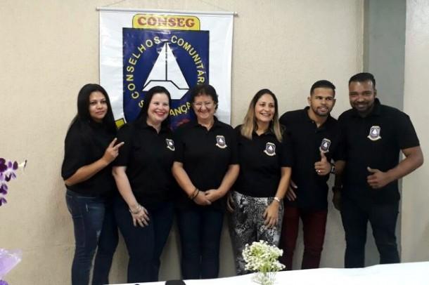 Nova diretoria do Conseg Pirajuçara assume para mais dois anos de mandato. (Foto: Divulgação)