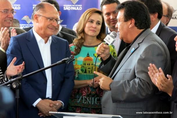 Prefeito Fernando Fernandes defende Alckmin e apoio no caminho que escolher em 2018.