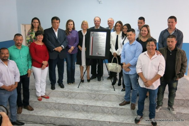 Serviço de Acolhimento Institucional para Crianças e Adolescentes (Saica) Professor Almério Lima é inaugurado em Taboão da Serra.