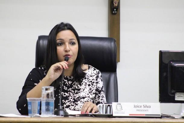 Vereadora Joice Silva, presidente da Câmara Municipal, é autora do projeto que já é lei. (Foto: Thiago Walter / Divulgação)