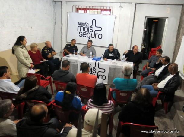 Moradores de Taboão da Serra querem aumento do efetivo e do número de equipes da Rocam em Taboão da Serra.