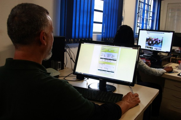 Recadastramento dos servidores públicos deve ser feito até o dia 31 de maio (Foto: Ricardo Vaz / PMTS)