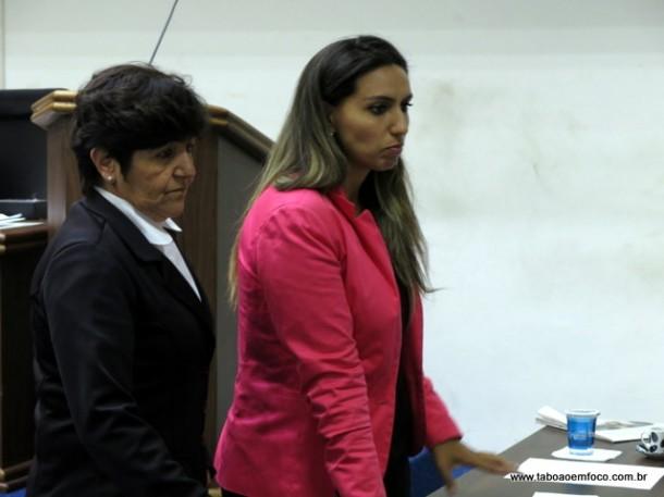 Rita de Cássia e Priscila Sampaio deixam aliados e aderem a grupo que venceu as eleições na Câmara para formar o G9.