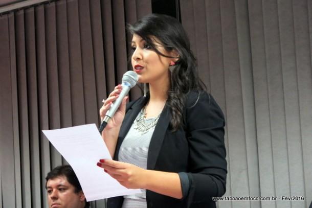 Presidente da Comissão do Jovem Advogado, Jéssica Lopes, diz que evento vai fortalecer a carreira dos novos advogados.