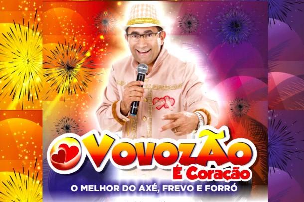 Ex-vereadora Macário arrisca na música e vira o Vovozão. (Foto: Reprodução)