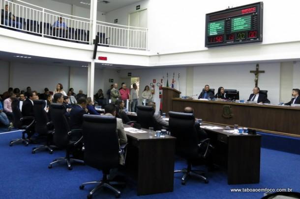 Câmara de Taboão da Serra regulamenta benefícios de seus servidores.