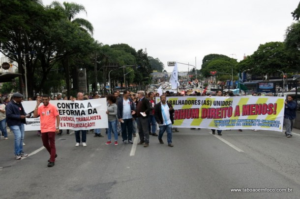 Sexta deve ter manifestações em todo país. Em Taboão, Rodovia Régis Bittencourt deve ter bloqueios.