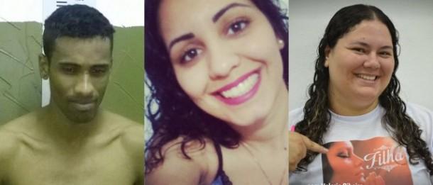 Michel da Silva Souza matou Jaqueline e Valéria a facadas por motivo banal. (Fotos: Reprodução)