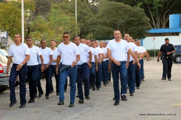 Novos GCM´s estão em treinamento para no final de outubro serem incorporados a corporação que conta hoje com 211 guardas.