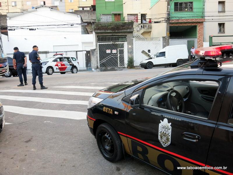 GCM e PM iniciam operação em conjunto em Taboão da Serra.