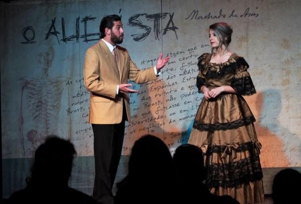 """Cemur recebe três apresentações da peça """"O Alienista"""" no Cemur, nesta quarta (16). (Foto: Divulgação)"""