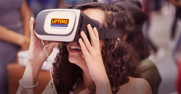 UPTime de Taboão da Serra usa realidade virtual para auxiliar aprendizado dos alunos. (Foto: Divulgação)