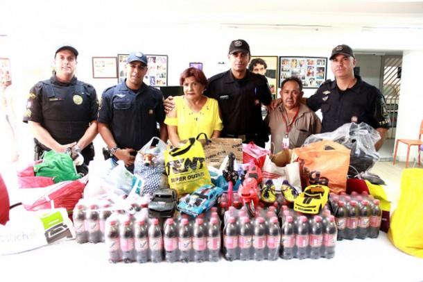 GCM de Taboão da Serra vem ajudando Cajec através de doações e instituição está aberta para receber o apoio de novos colaboradores (Foto: Ricardo Vaz / PMTS)