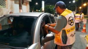 Blitze de fiscalização da Lei Seca foram realizadas entre a noite de sexta-feira (1° de setembro) e a madrugada deste sábado (2). Ao todo, 216 condutores foram submetidos ao teste do etilômetro. (Foto: Arquivo / Detran-SP)