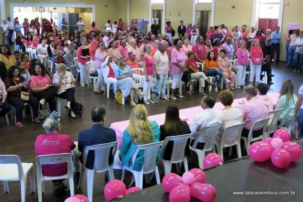 Cemur realiza abertura do Outubro Rosa em Taboão da Serra