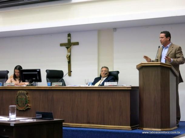 Eduardo Nóbrega anuncia que PSDB vai indicar o candidato a sucessão em 2020 e clima esquenta na Câmara. Político não tem apoio do chamado G9.