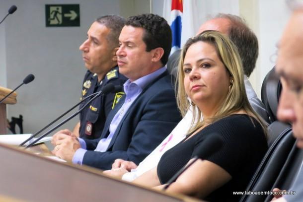Presidente da comissão, vereadora Érica Franquini enaltece o projeto City Câmeras e promete pela implantação em Taboão da Serra.