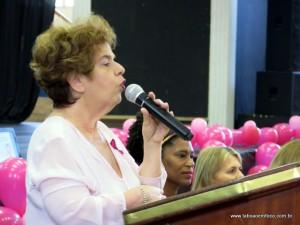 Secretária de saúde Raquel Zaicaner abre Outubro Rosa em Taboão da Serra.