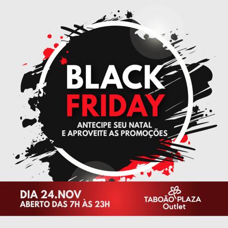 Arte Black Friday Taboao Plaza Outlet