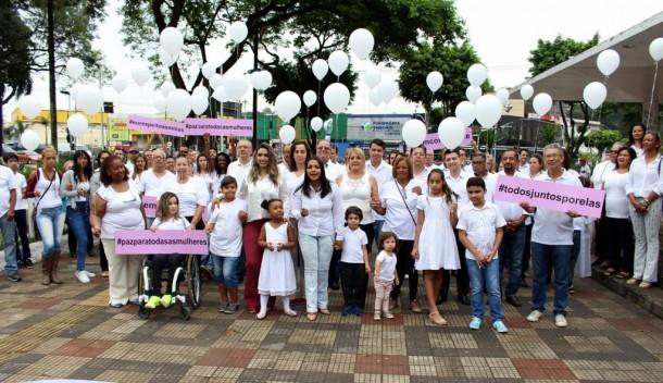 Taboão da Serra terá caminhada pela paz e o fim da violência contra a mulher no dia 25 de novembro. (Foto: Douglas Vaz)
