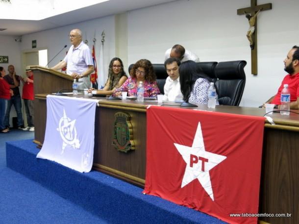 PT de Taboão da Serra faz encontro na Câmara com presença de Suplicy.