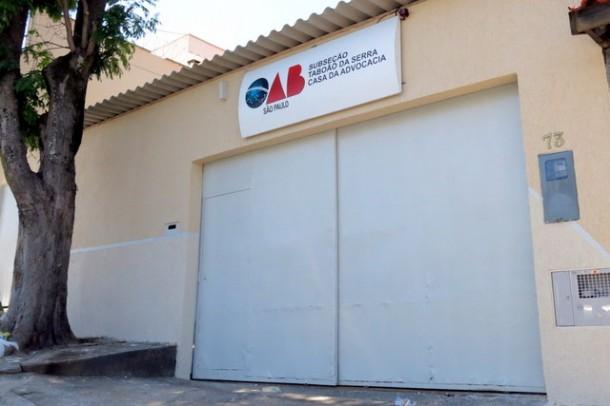 Fachada da nova Casa da Advocacia da OAB de Taboão da Serra. (Foto: Divulgação)
