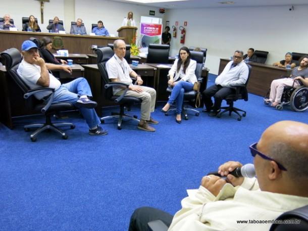 Fórum discute acessibilidade em Taboão da Serra.
