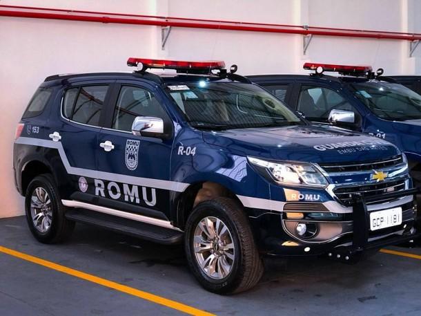 Viaturas novas da ROMU, grupamento de elite da GCM, já estão prontas e devem patrulhar as ruas de Embu das Artes em breve. (Foto: Reprodução)